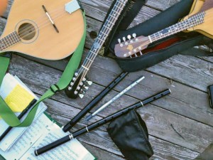 Mandolins, whistles, flutes and lots more strings